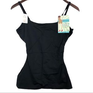 Love your assets Spanx scoop cami size large black